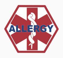 ALLERGY MEDICAL ALERT ID TAG Kids Tee