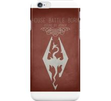 House Battle Born iPhone Case/Skin