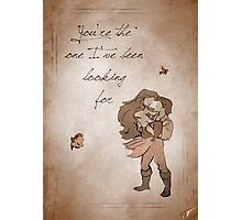 The Little Mermaid inspired valentine. Photographic Print
