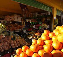 fruits and vegetables - frutas y verduras by Bernhard Matejka