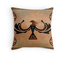 Crow-The Shapeshifter Throw Pillow