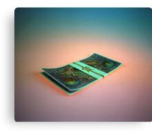 Firefly Currency Canvas Print