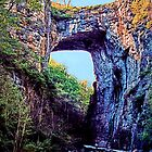 Natural Bridge - Virginia by DJ Florek