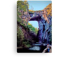 Natural Bridge - Virginia Canvas Print