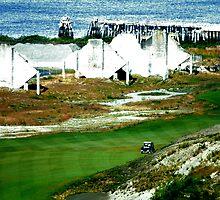 Puget Sound Golf Course by Alex Weeks