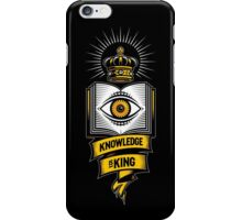 """KNOWLEDGE IS KING"" iPhone Case/Skin"
