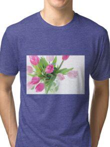tulip Tri-blend T-Shirt