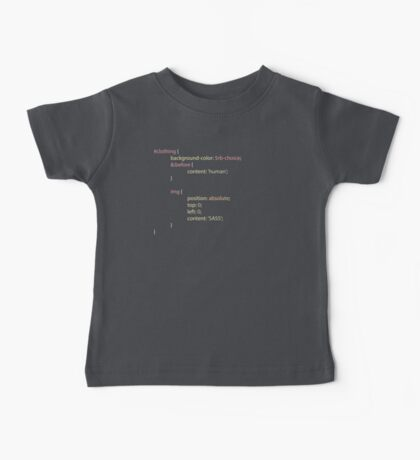 SASS clothing Baby Tee