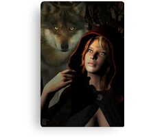 The Forest Has Eyes Canvas Print