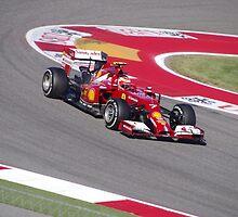 Ferrari F1 at Austin by F1-girl