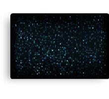 indigo spots Canvas Print