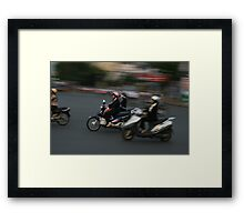 The Pink Lid Framed Print