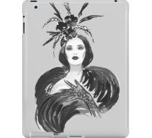 Fashion woman iPad Case/Skin