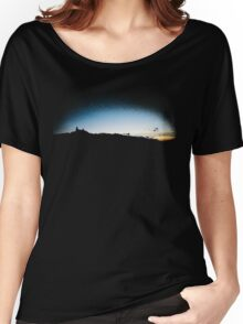 Trosky at dusk, Czech Republic (T-Shirt) Women's Relaxed Fit T-Shirt