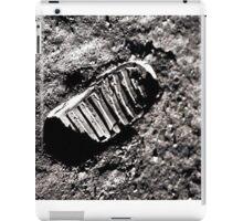 First moon footprint. iPad Case/Skin