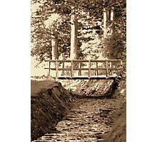 Bridge to the Past Photographic Print
