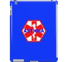 ASTHMA MEDICAL ALERT ID TAG iPad Case/Skin