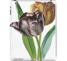 Tulip Vector on White Background iPad Case/Skin