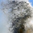 Water Spray at Lyme Harbour today by lynn carter