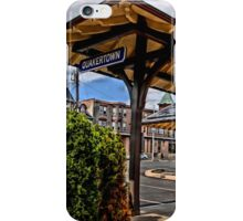 Q-town Station iPhone Case/Skin