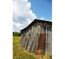 Shope's Shed (color) Photographic Print