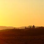 Sunset on Dunrobin Castle by nikki harrison