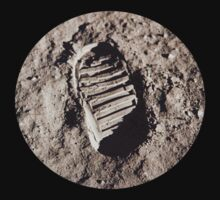 Most famous footprint ever. Astronaut moon mission. by 2monthsoff