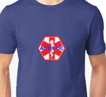 AUTISTIC MEDICAL ALERT ID TAG Unisex T-Shirt