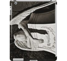 Weeping Angel II - sepia iPad Case/Skin