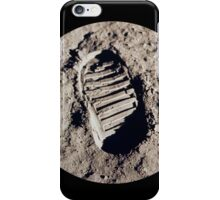 Most famous footprint ever. Astronaut moon mission. iPhone Case/Skin