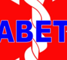 DIABETES  - DIABETIC MEDICAL ALERT ID TAG Sticker
