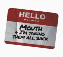 Mouth Name Badge - The Goonies Kids Clothes