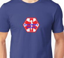 Alzheimer's disease medical alert Identification Tag Unisex T-Shirt