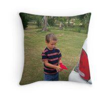hillbilly carwash Throw Pillow