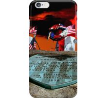 Soldier's Graves - Washington Crossing PA iPhone Case/Skin