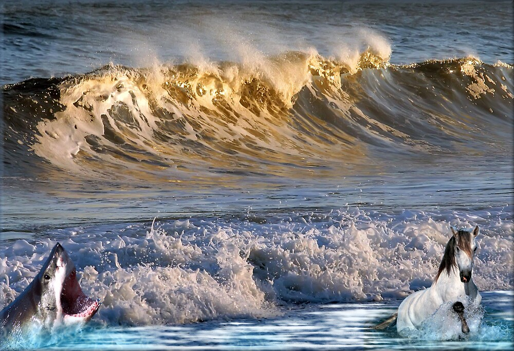 926-High Surf Drama by George W Banks