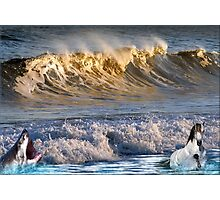926-High Surf Drama Photographic Print