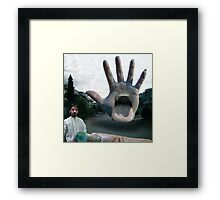 The Islamabad Meeting, We Come in Peace They Tell Us Framed Print
