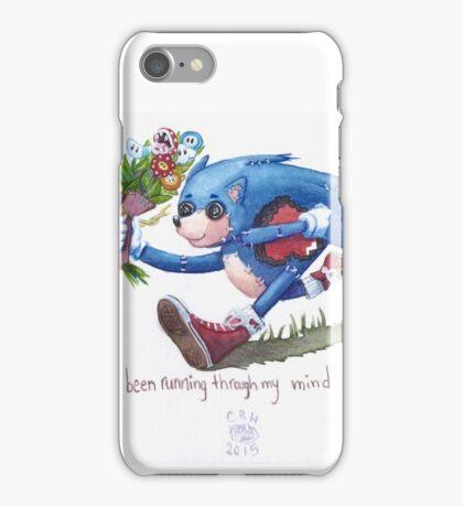 Rag doll Sonic the Hedgehog iPhone Case/Skin