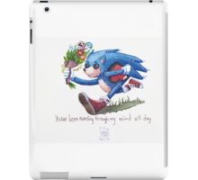 Rag doll Sonic the Hedgehog iPad Case/Skin