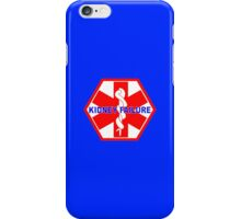 KIDNEY FAILURE MEDICAL ALERT IDENTIFICATION ID TAG  iPhone Case/Skin