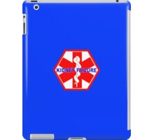 KIDNEY FAILURE MEDICAL ALERT IDENTIFICATION ID TAG  iPad Case/Skin