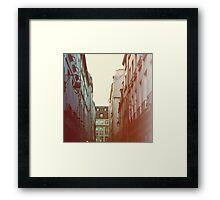 Lamplight Framed Print