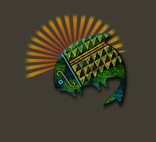 Sun Fish Womens Fitted T-Shirt