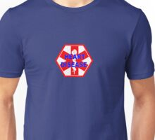 Heart disease medical alert Identification ID tag  Unisex T-Shirt