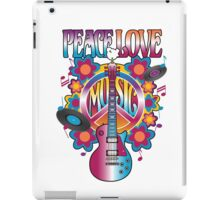 Peace, Love and Music iPad Case/Skin