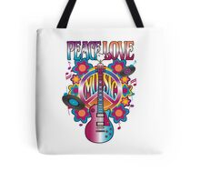 Peace, Love and Music Tote Bag