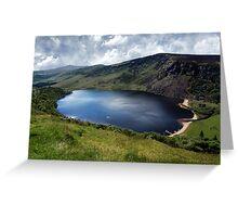 Lough Tay - Corrie Lake Greeting Card