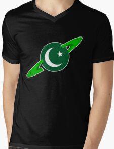 Show you are a Pakistani Starfleet Hero Mens V-Neck T-Shirt