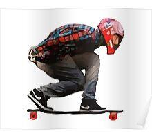 Skate aerodynamics! Poster